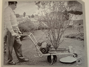 The Oldest Deutscher Mower