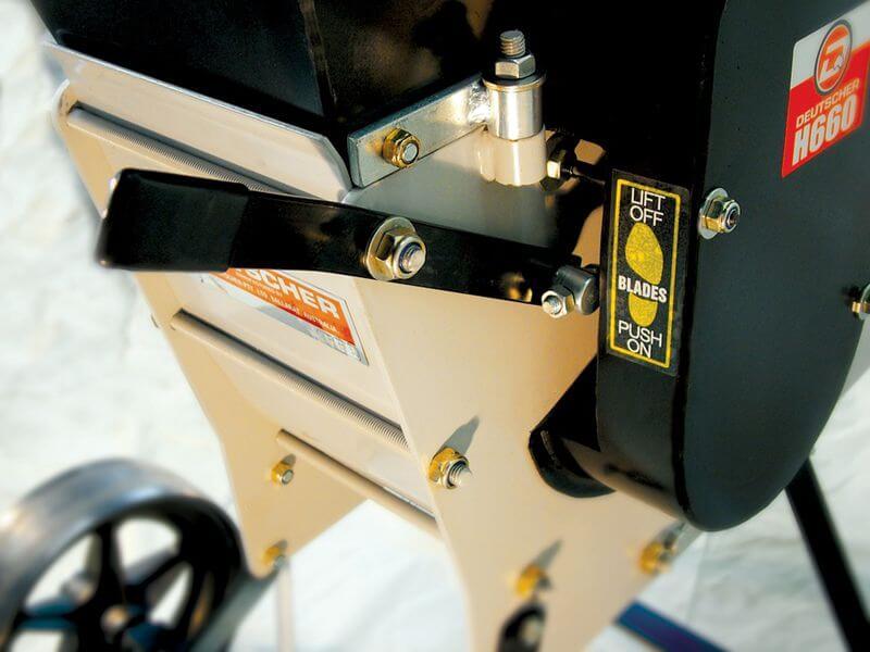 Duetscher 650 Chipper Shredder